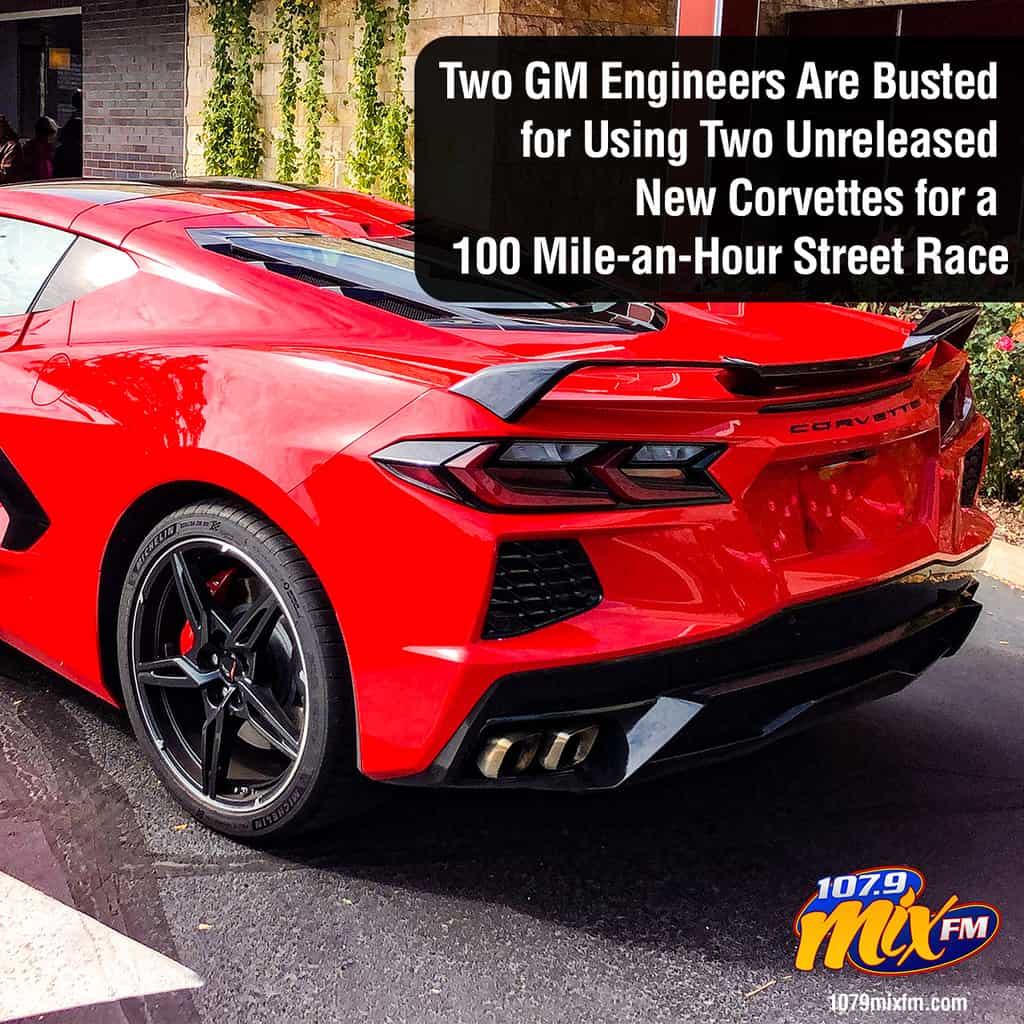 Two GM Engineers Are Busted for Using Two Unreleased New Corvettes for a 100 Mile-an-Hour Street Race