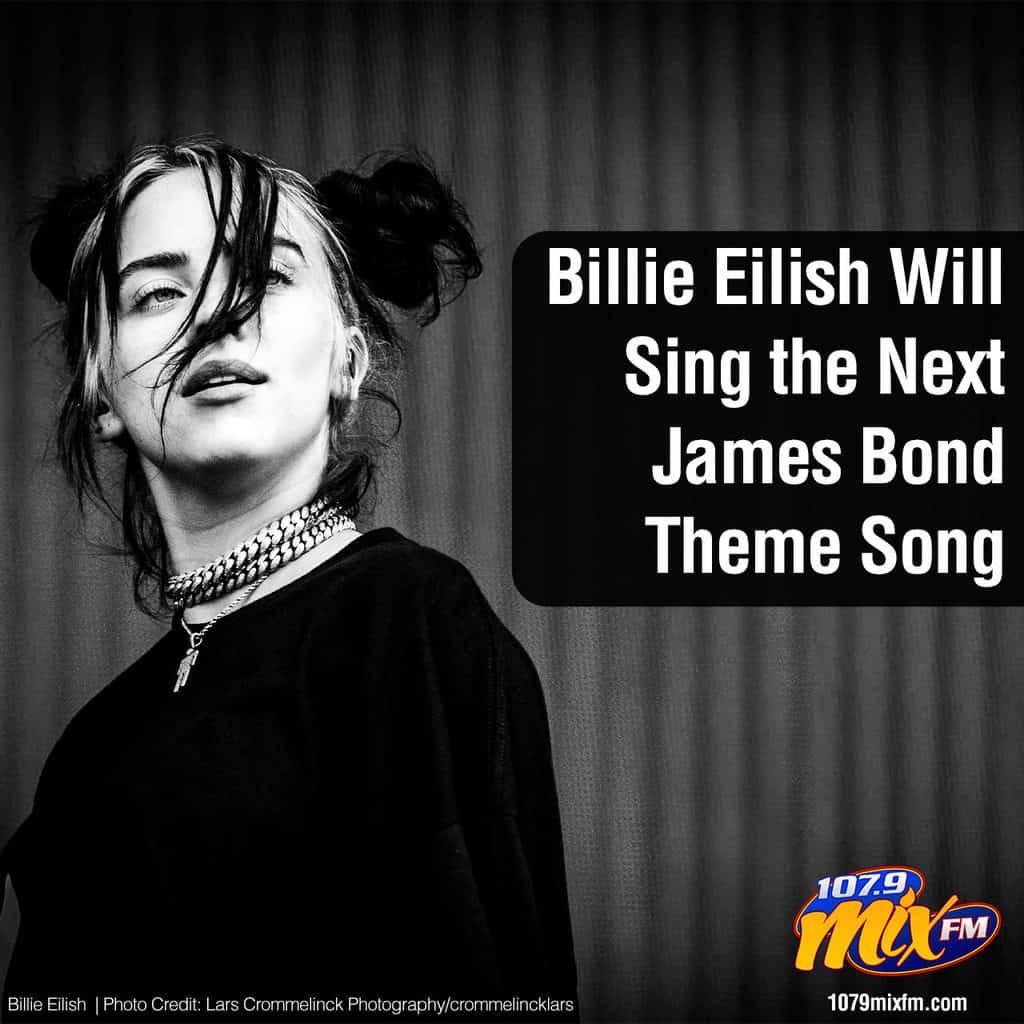 Billie Eilish Will Sing the Next James Bond Theme Song 1