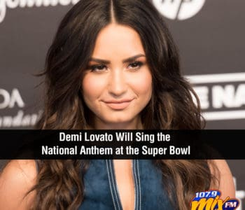 Demi Lovato Will Sing the National Anthem at the Super Bowl 1