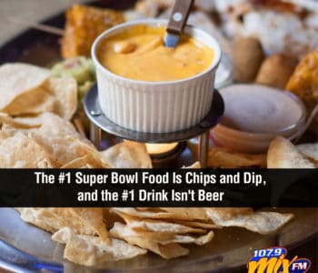 The #1 Super Bowl Food Is Chips and Dip, and the #1 Drink Isn't Beer