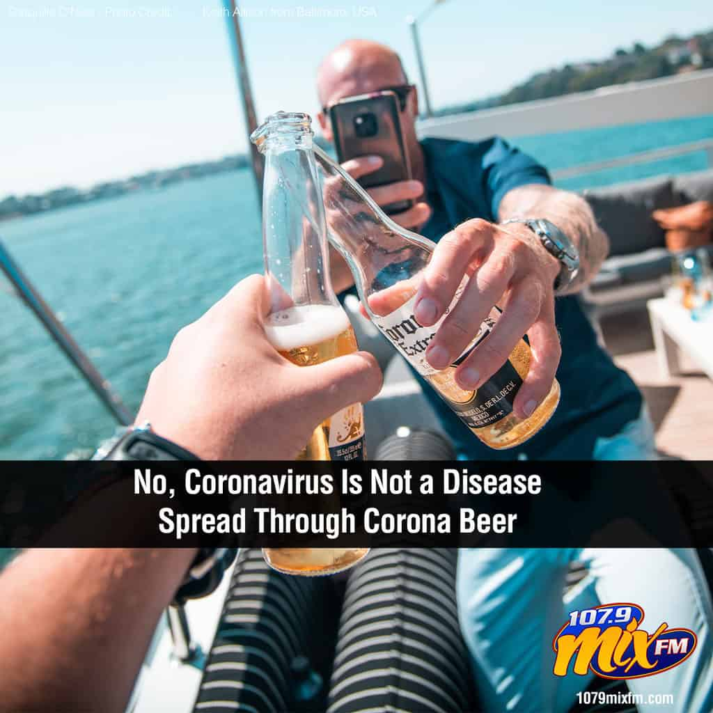 No, Coronavirus Is Not a Disease Spread Through Corona Beer