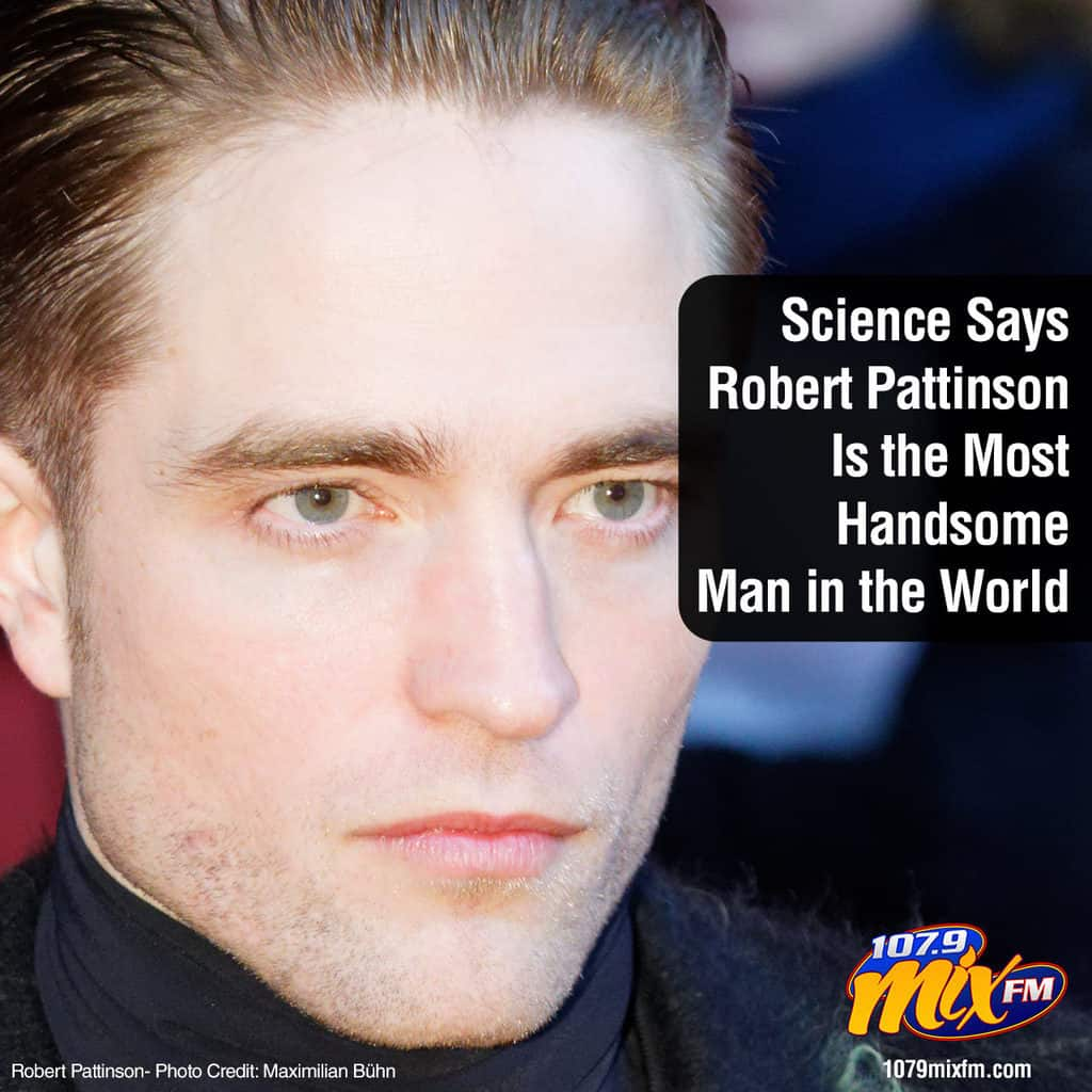 Science Says Robert Pattinson Is the Most Handsome Man in the World 1