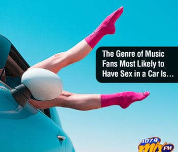 The Genre of Music Fans Most Likely to Have Sex in a Car Is . . .