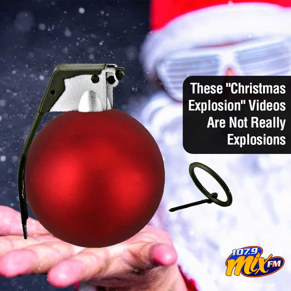 """These """"Christmas Explosion"""" Videos Are Not Really Explosions"""