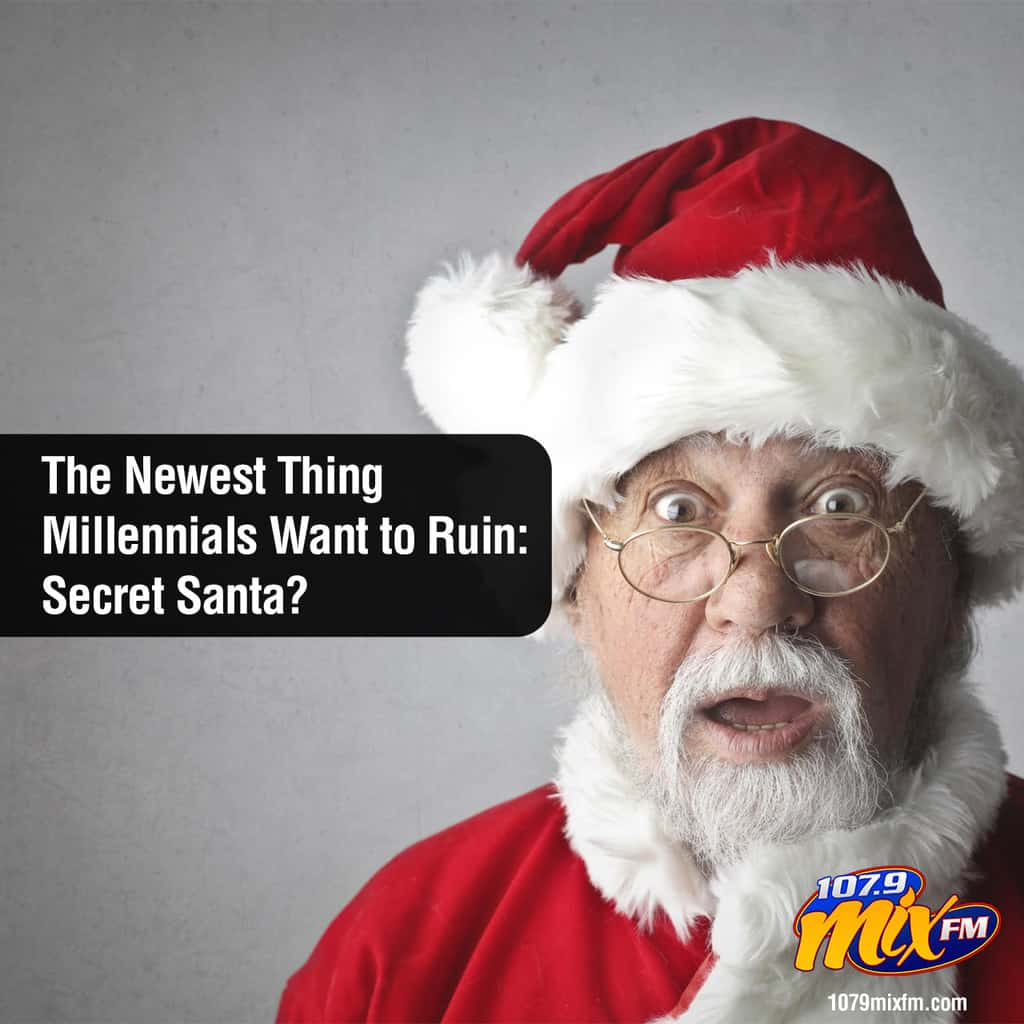 The Newest Thing Millennials Want to Ruin: Secret Santa?