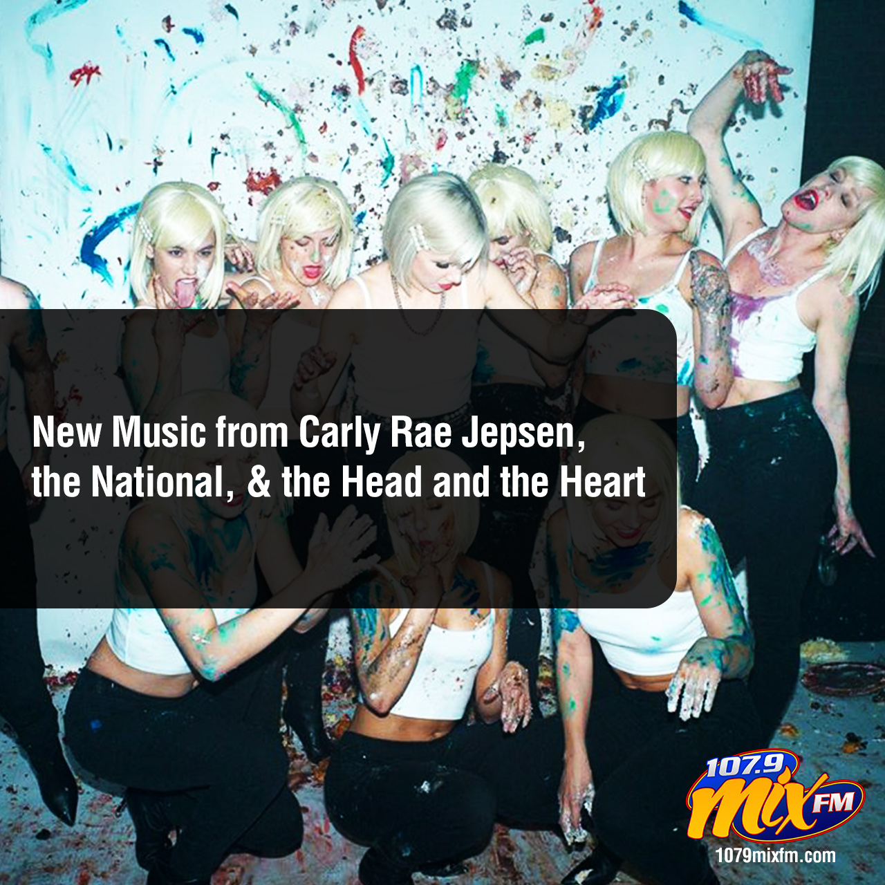 New Music from Carly Rae Jepsen, the National, and the Head and the Heart