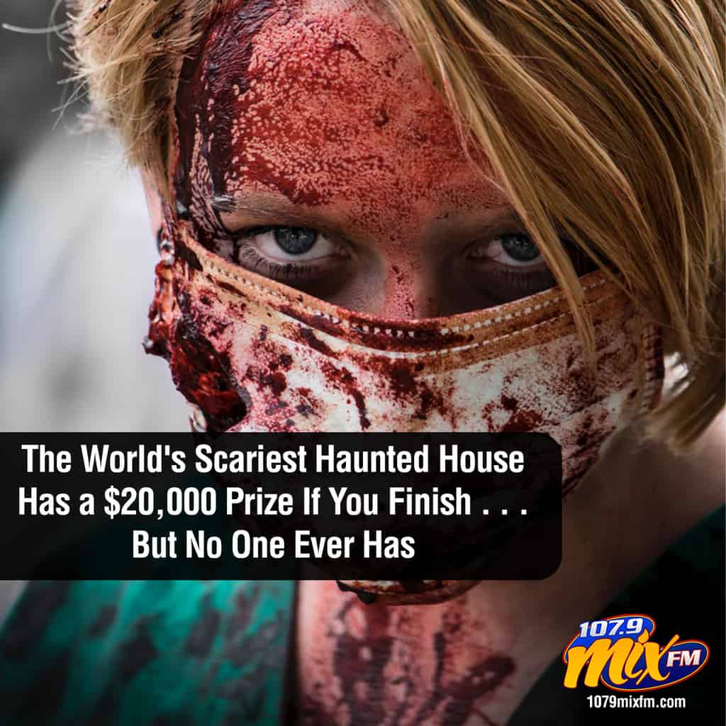 The World's Scariest Haunted House Has a $20,000 Prize If You Finish . . . But No One Ever Has