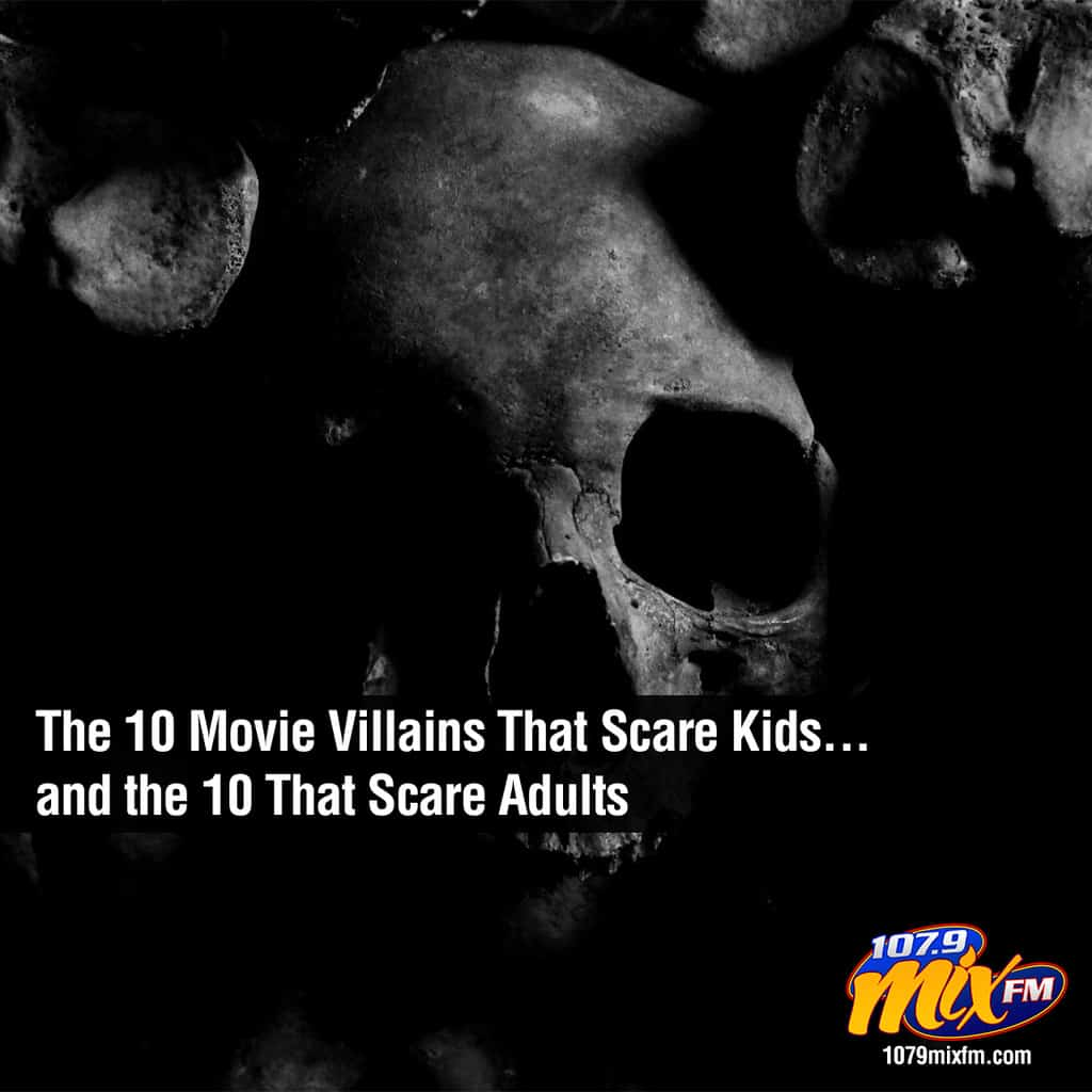 The 10 Movie Villains That Scare Kids . . . and the 10 That Scare Adults