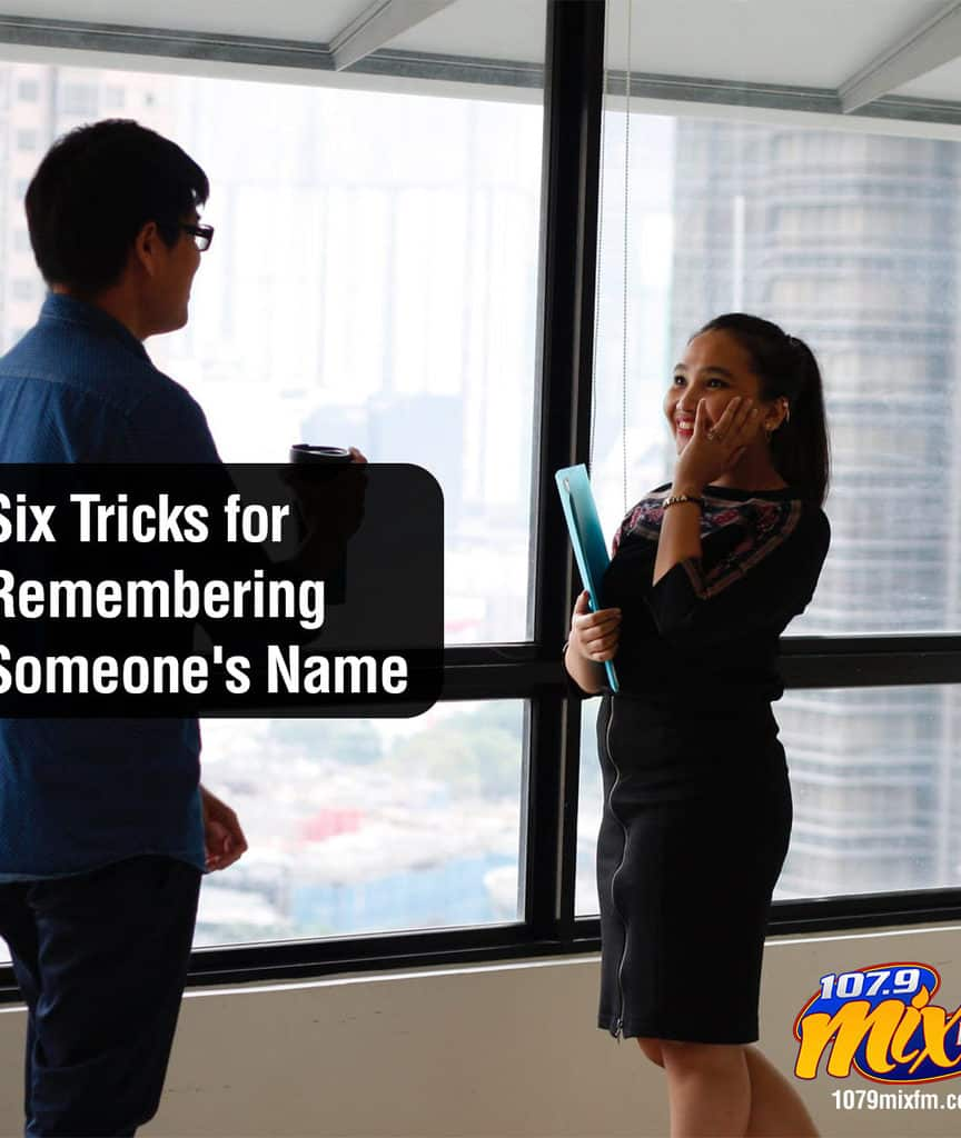 Six Tricks for Remembering Someone's Name