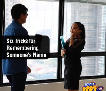 Six Tricks for Remembering Someone's Name 1