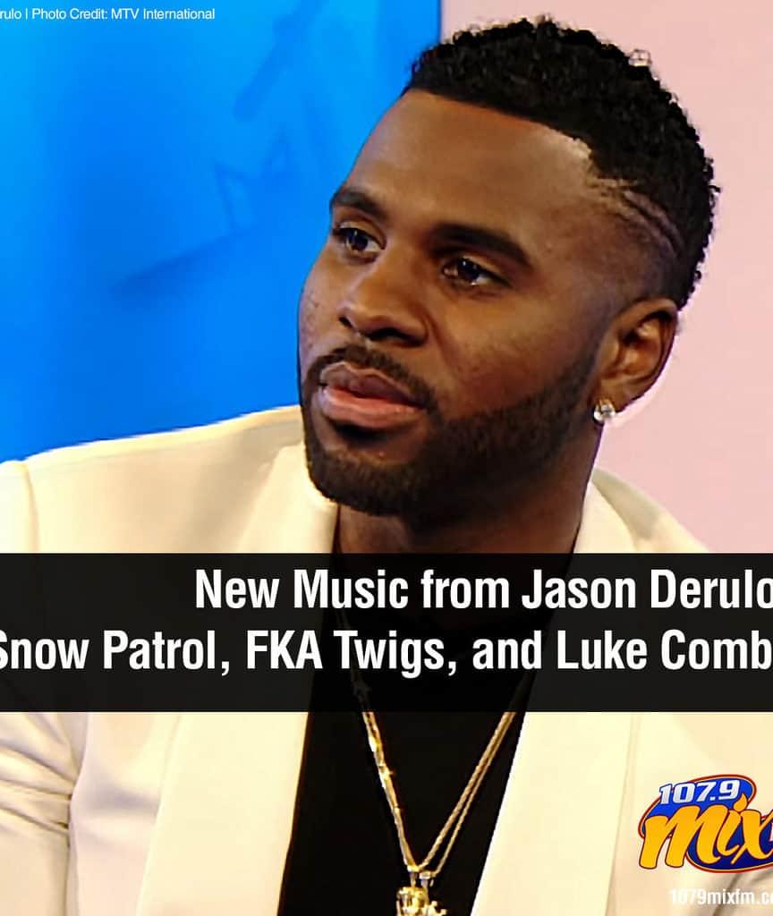 New Music from Jason Derulo, Snow Patrol, FKA Twigs, and Luke Combs