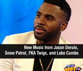 New Music from Jason Derulo, Snow Patrol, FKA Twigs, and Luke Combs 2