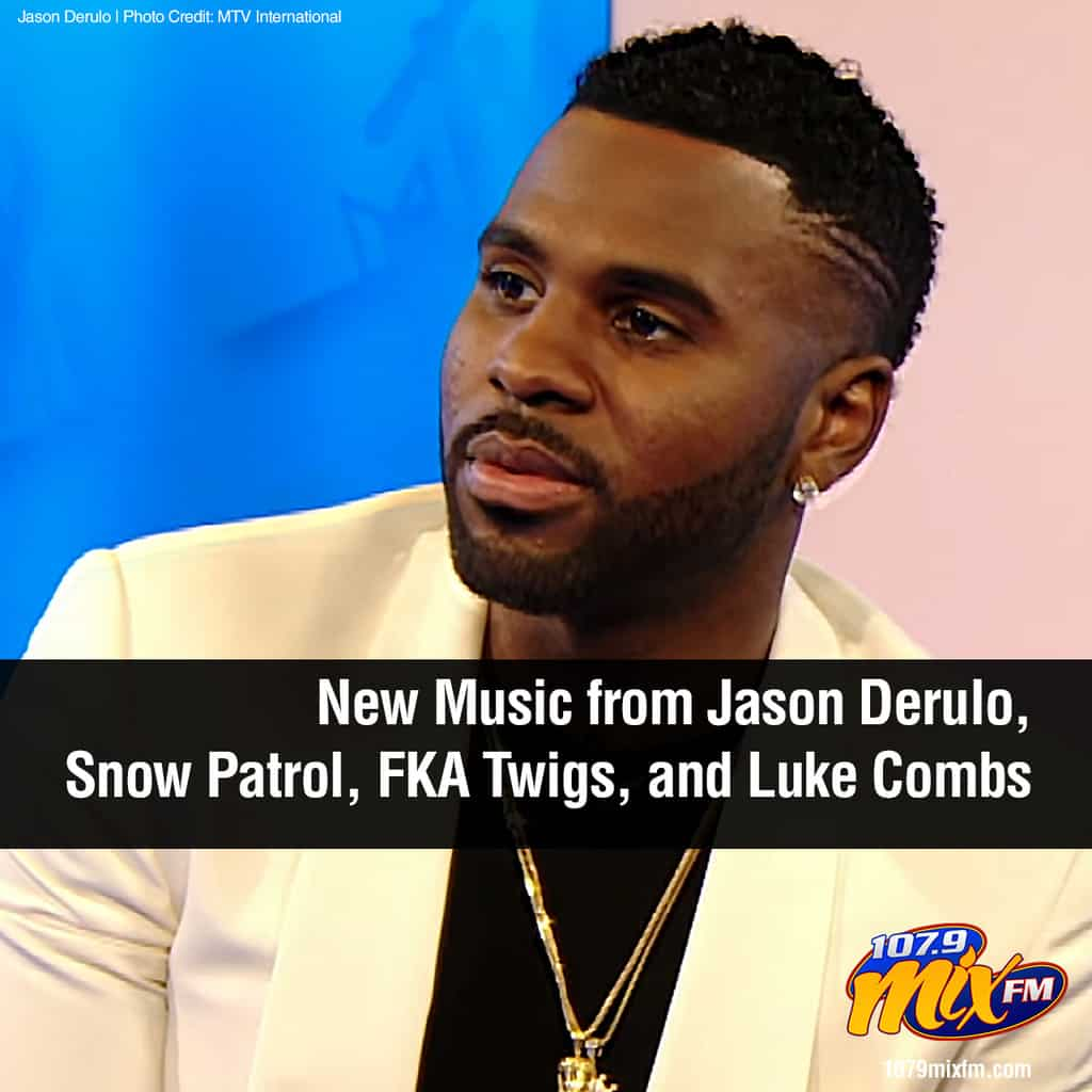 New Music from Jason Derulo, Snow Patrol, FKA Twigs, and Luke Combs