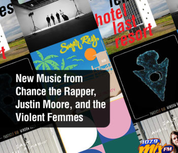 New Music from Chance the Rapper, Justin Moore, and the Violent Femmes 3