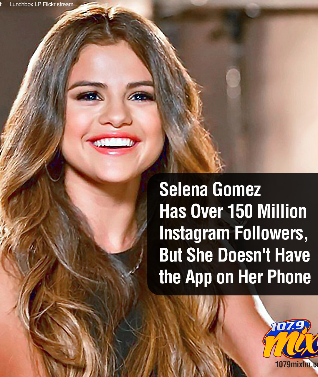 Selena Gomez Has Over 150 Million Instagram Followers, But She Doesn't Have the App on Her Phone