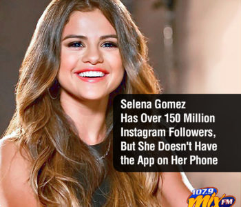Selena Gomez Has Over 150 Million Instagram Followers, But She Doesn't Have the App on Her Phone 2