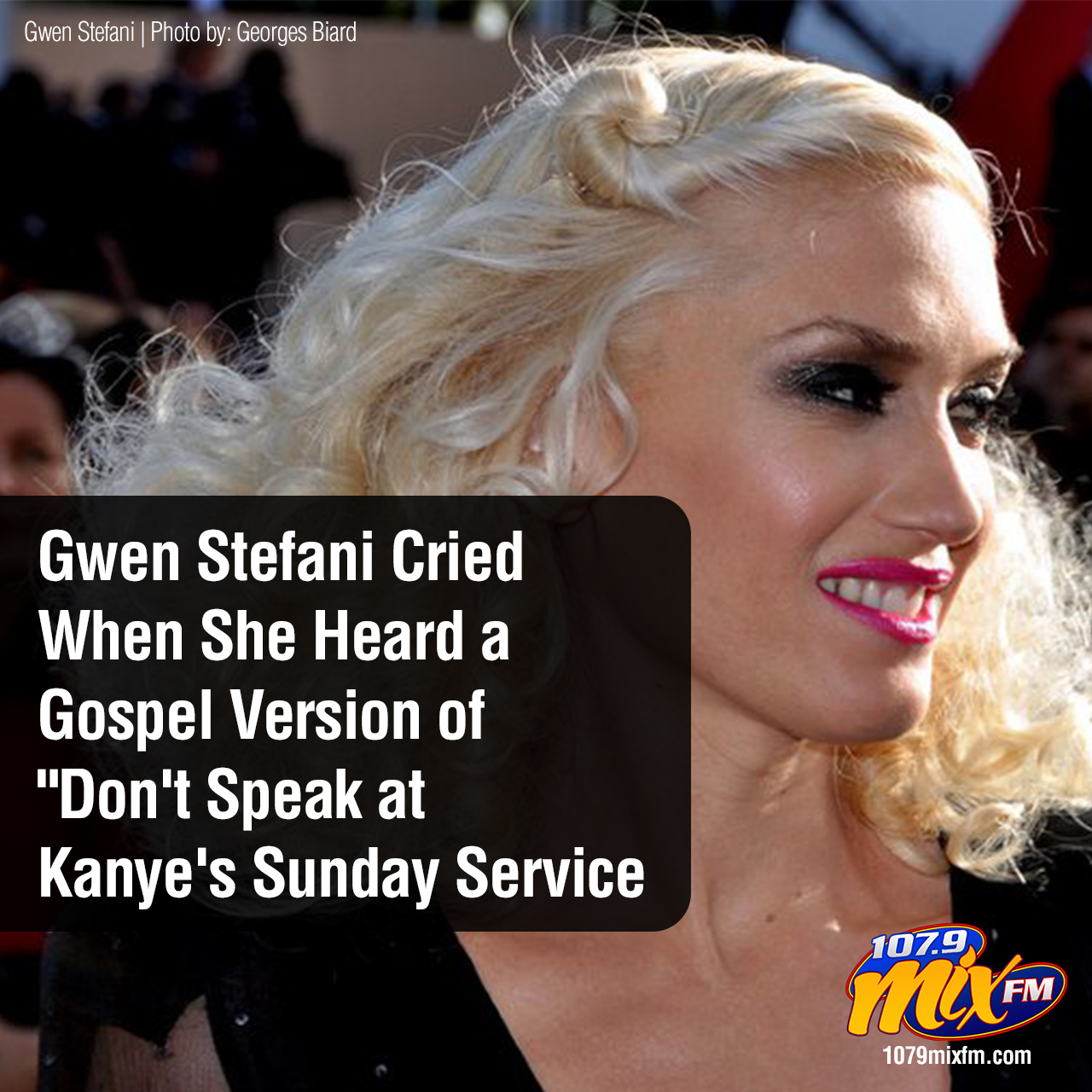 "Gwen Stefani Cried When She Heard a Gospel Version of ""Don't Speak at Kanye's Sunday Service"