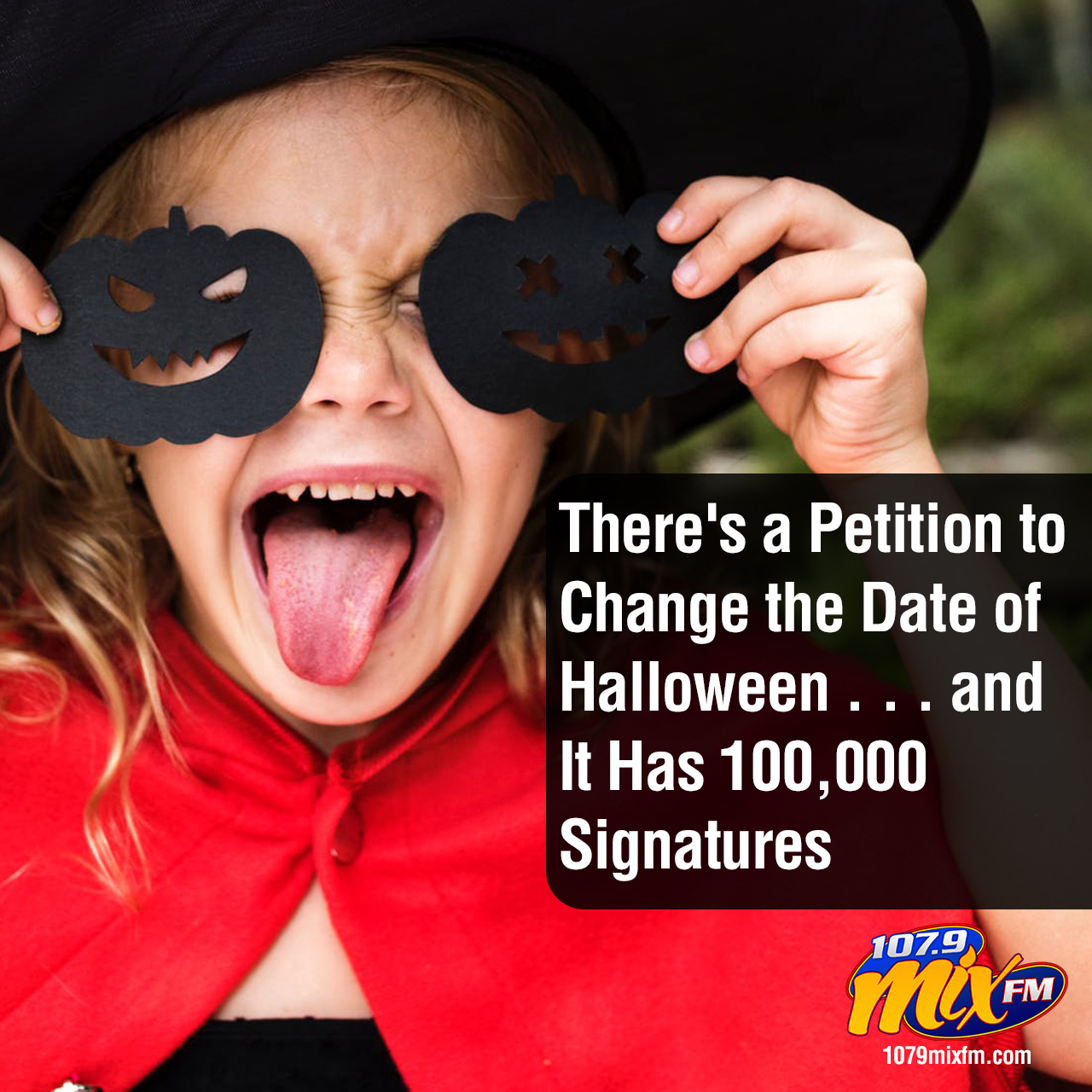 There's a Petition to Change the Date of Halloween . . . and It Has 100,000 Signatures