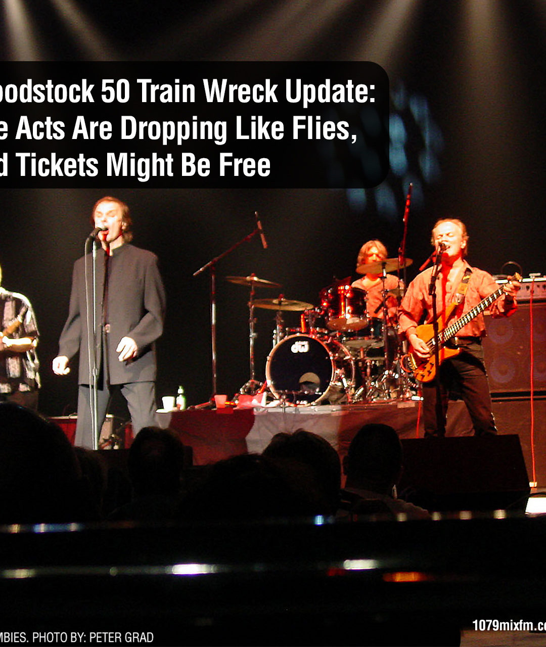 Woodstock 50 Train Wreck Update: The Acts Are Dropping Like Flies, and Tickets Might Be Free