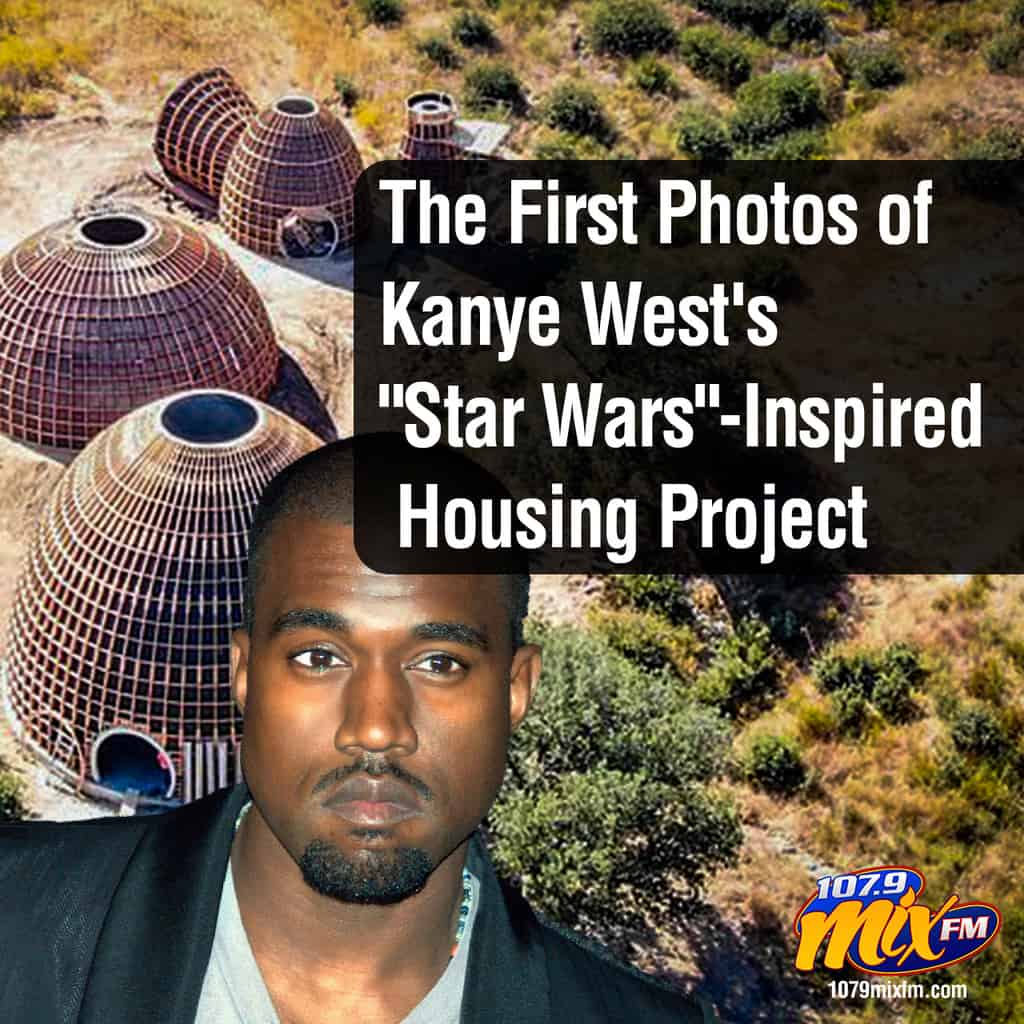 "The First Photos of Kanye West's ""Star Wars""-Inspired Housing Project"