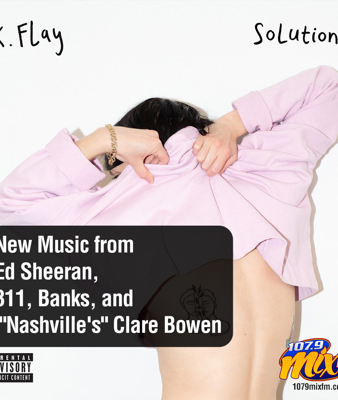 """New Music from Ed Sheeran, 311, Banks, and """"Nashville's"""" Clare Bowen"""