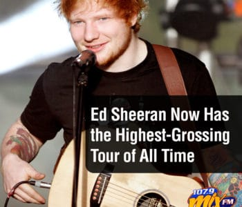 Ed Sheeran Now Has the Highest-Grossing Tour of All Time 3