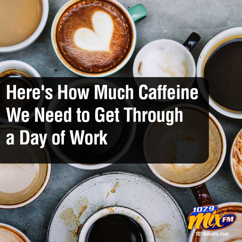 Here's How Much Caffeine We Need to Get Through a Day of Work
