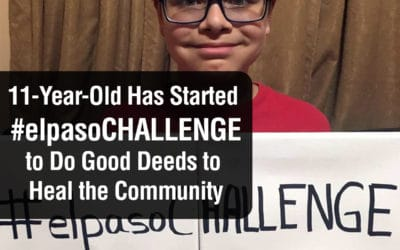 """An 11-Year-Old Has Started the """"El Paso Challenge"""" to Do Good Deeds to Heal the Community"""
