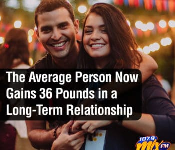 The Average Person Now Gains 36 Pounds in a Long-Term Relationship 1