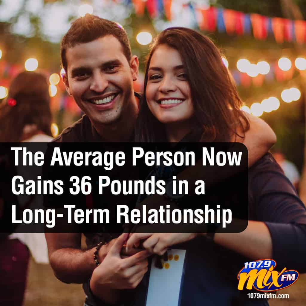 The Average Person Now Gains 36 Pounds in a Long-Term Relationship