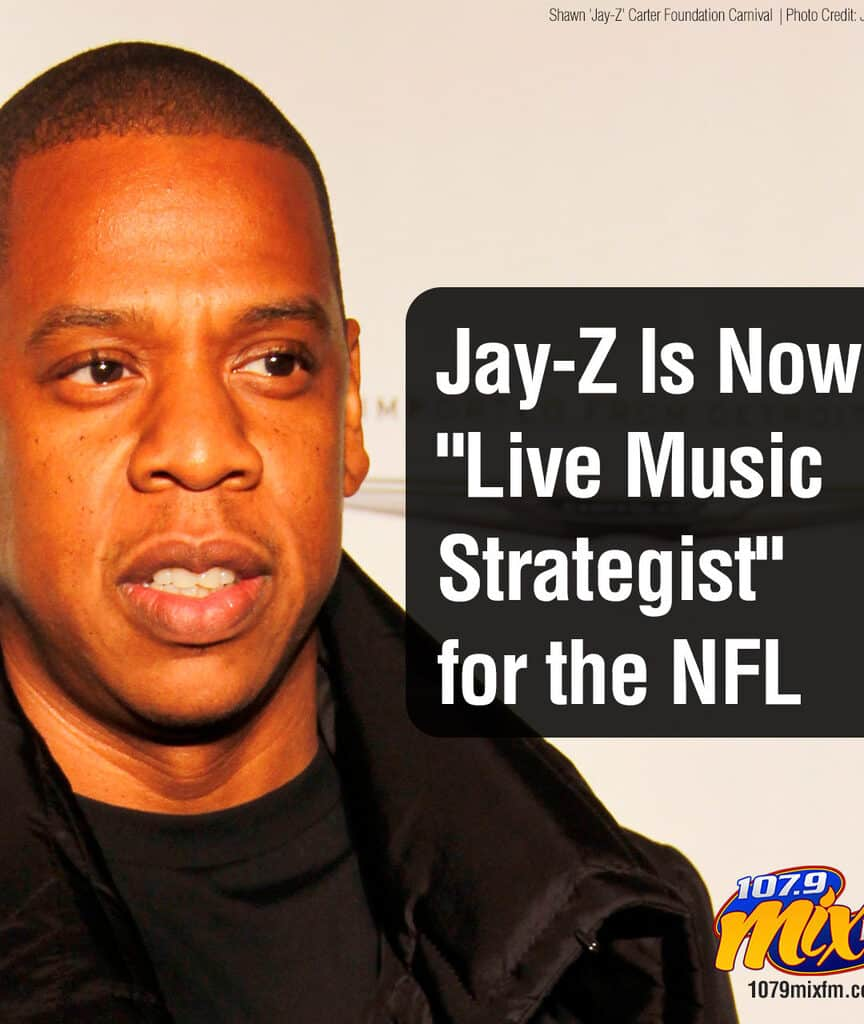 "Jay-Z Is Now a ""Live Music Strategist"" for the NFL"