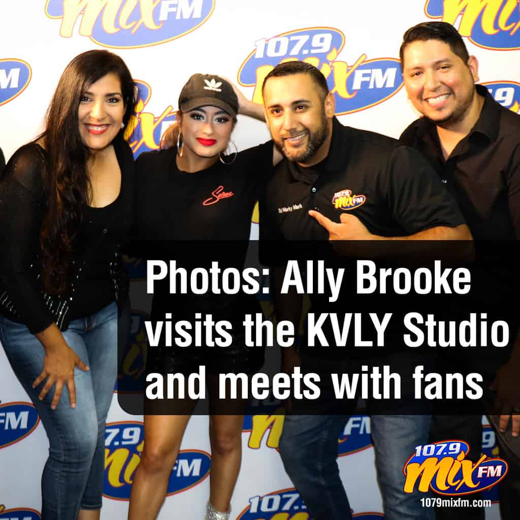 Photos: Ally Brooke in the Mix Studio