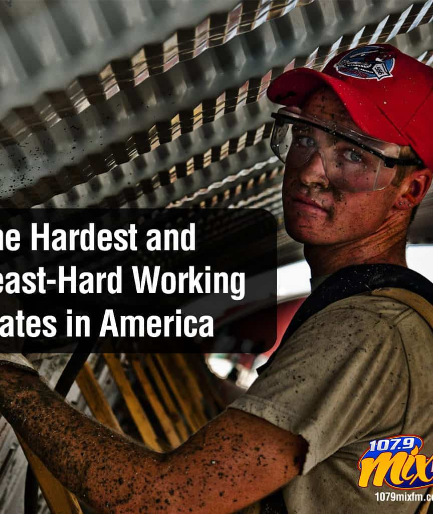 The Hardest and Least-Hard Working States in America