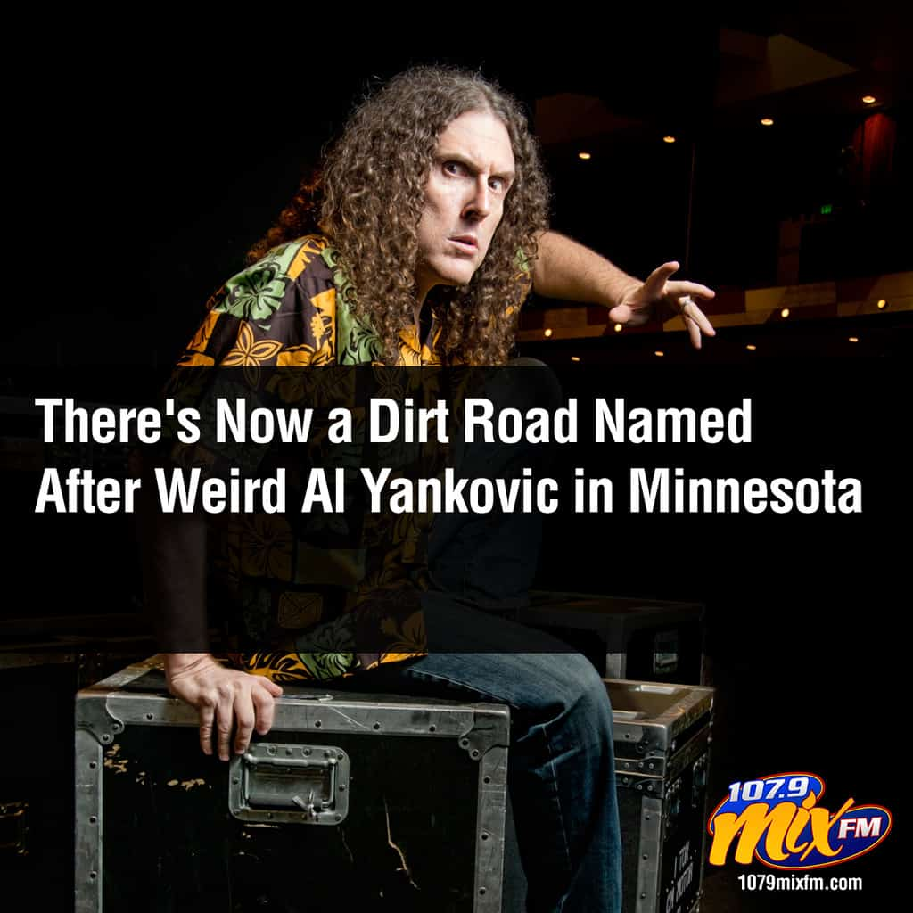 There's Now a Dirt Road Named After Weird Al Yankovic in Minnesota