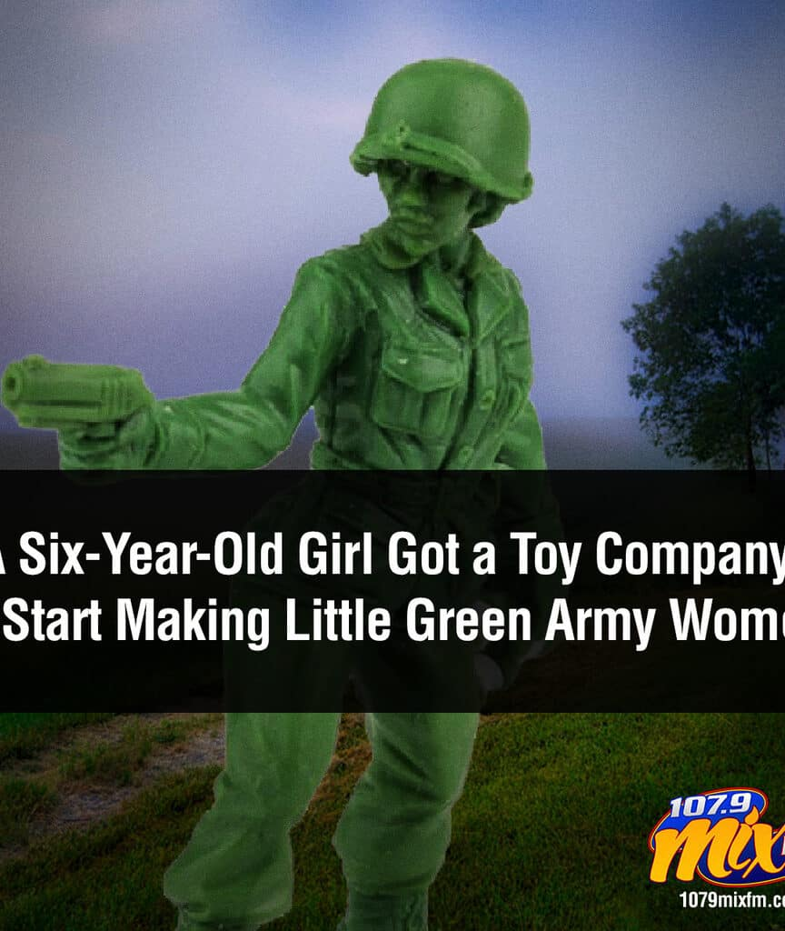 A Six-Year-Old Girl Got a Toy Company to Start Making Little Green Army Women