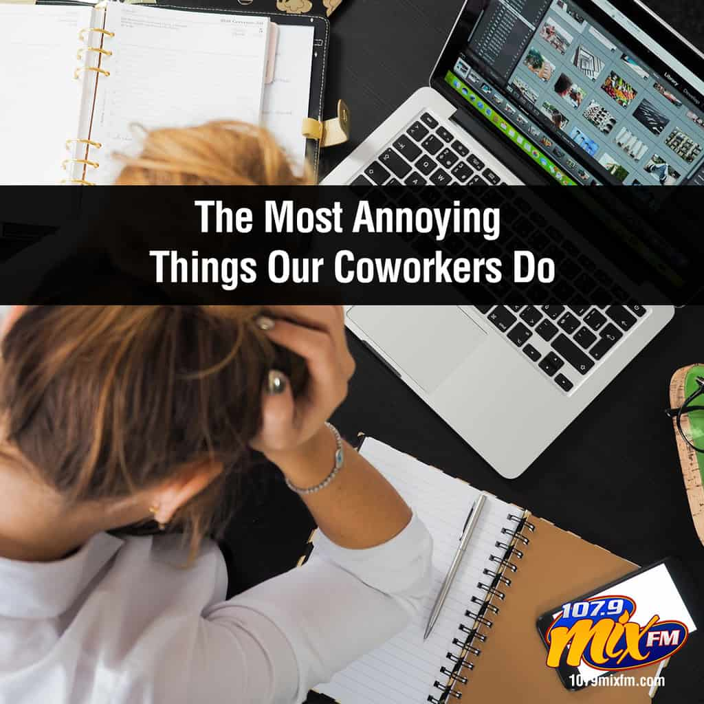 Here Are the Most Annoying Things Our Coworkers Do