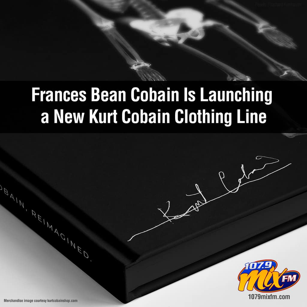 Frances Bean Cobain Is Launching a New Kurt Cobain Clothing Line