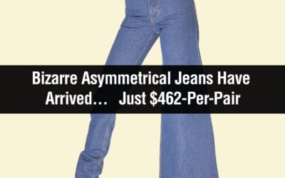 Ridiculous Asymmetrical Jeans Have Arrived . . . Just $462-Per-Pair