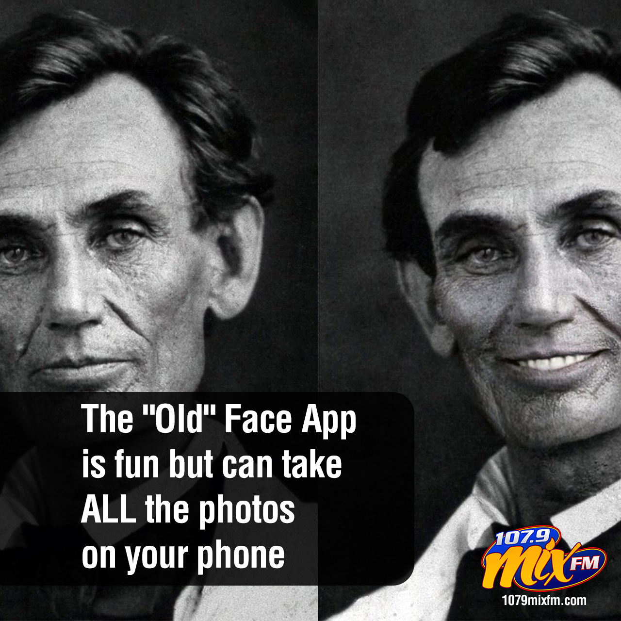 """The """"Old"""" Face App while fun can potentially take ALL the photos on your phone"""