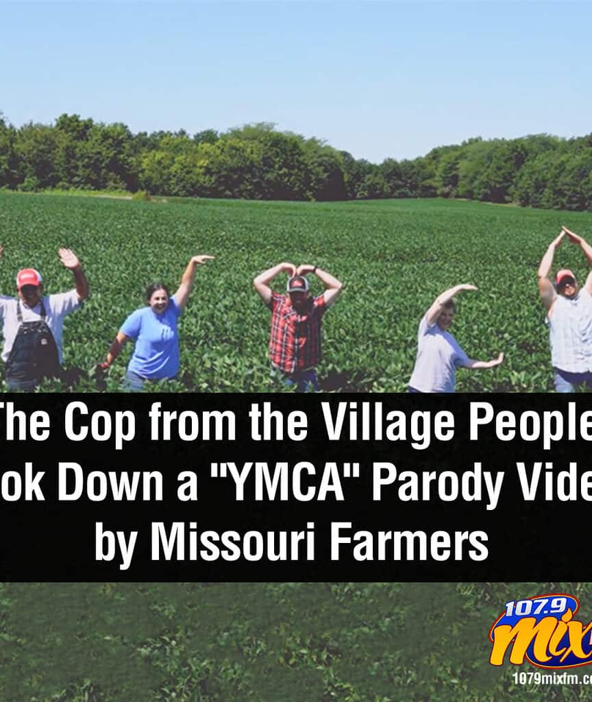 "The Cop from the Village People Took Down a ""YMCA"" Parody Video by Missouri Farmers"
