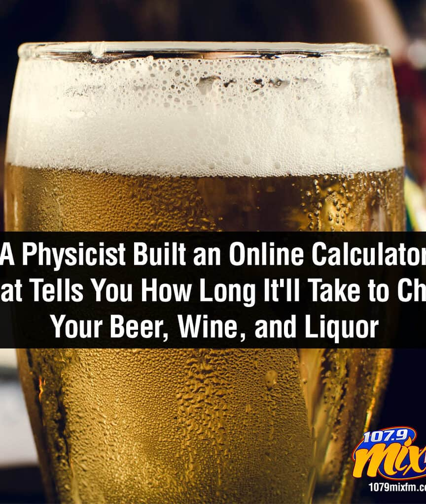 A Physicist Built an Online Calculator That Tells You How Long It'll Take to Chill Your Beer, Wine, and Liquor