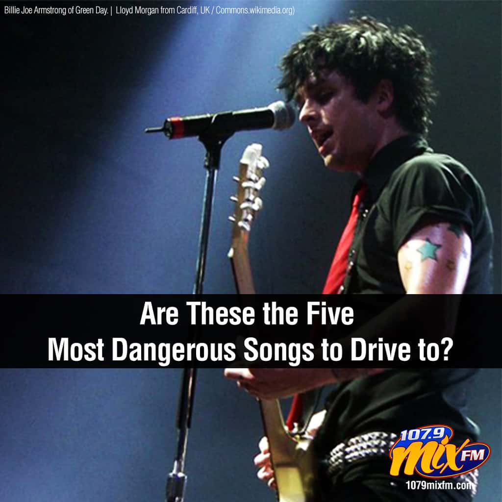 Are These the Five Most Dangerous Songs to Drive to?