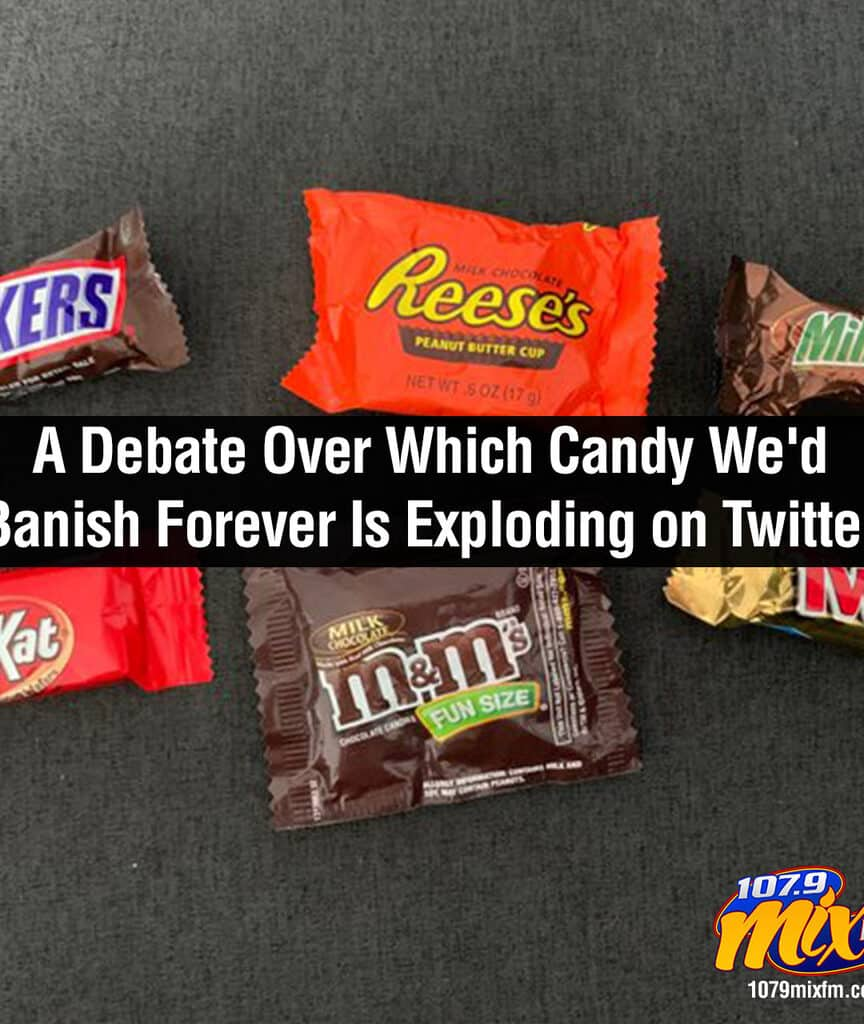 A Debate Over Which Candy We'd Banish Forever Is Exploding on Twitter