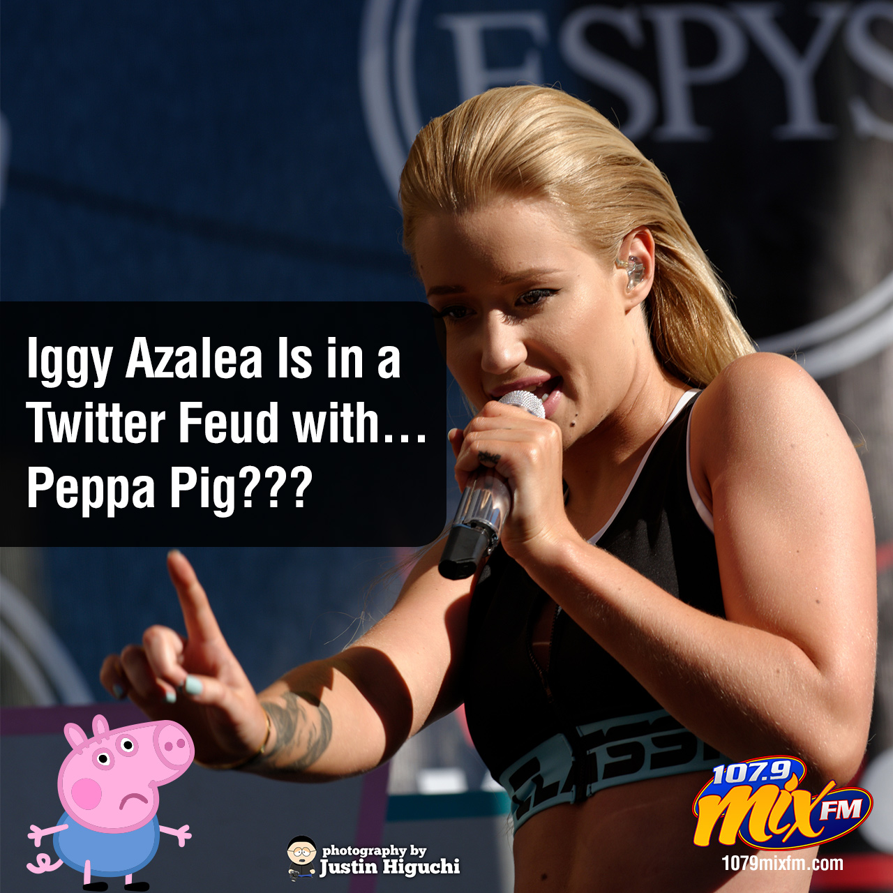 Iggy Azalea Is in a Twitter Feud with . . . Peppa Pig???