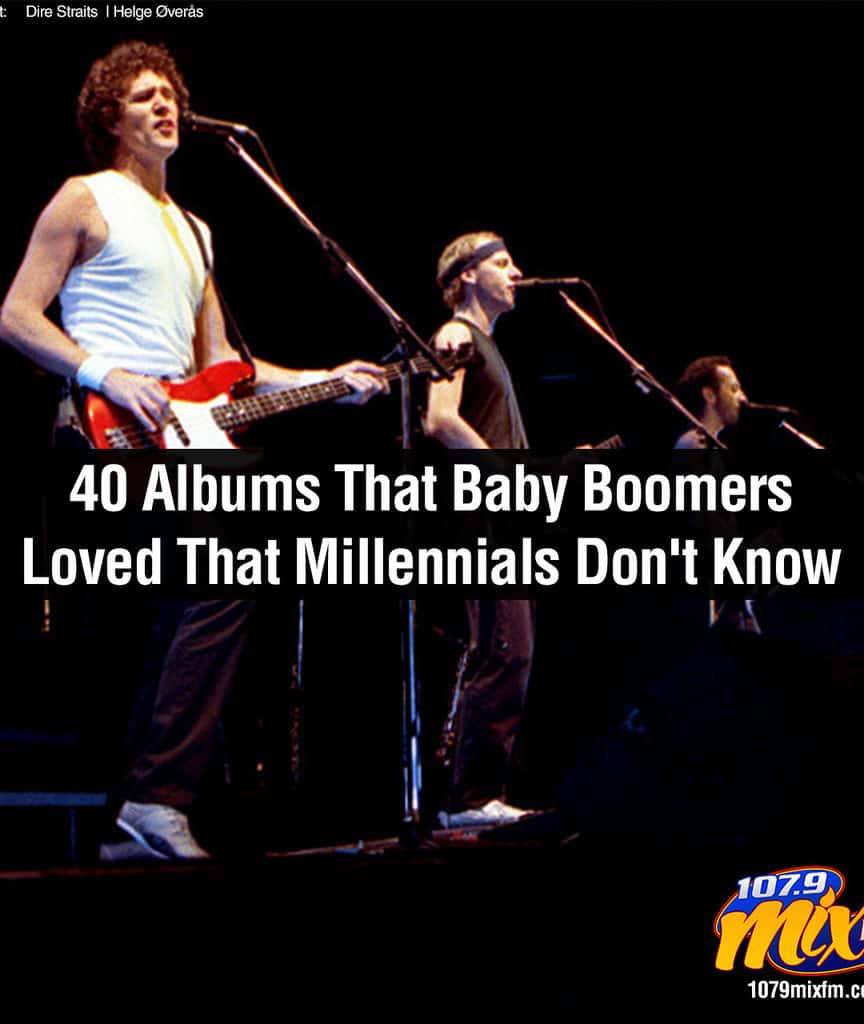 40 Albums That Baby Boomers Loved That Millennials Don't Know