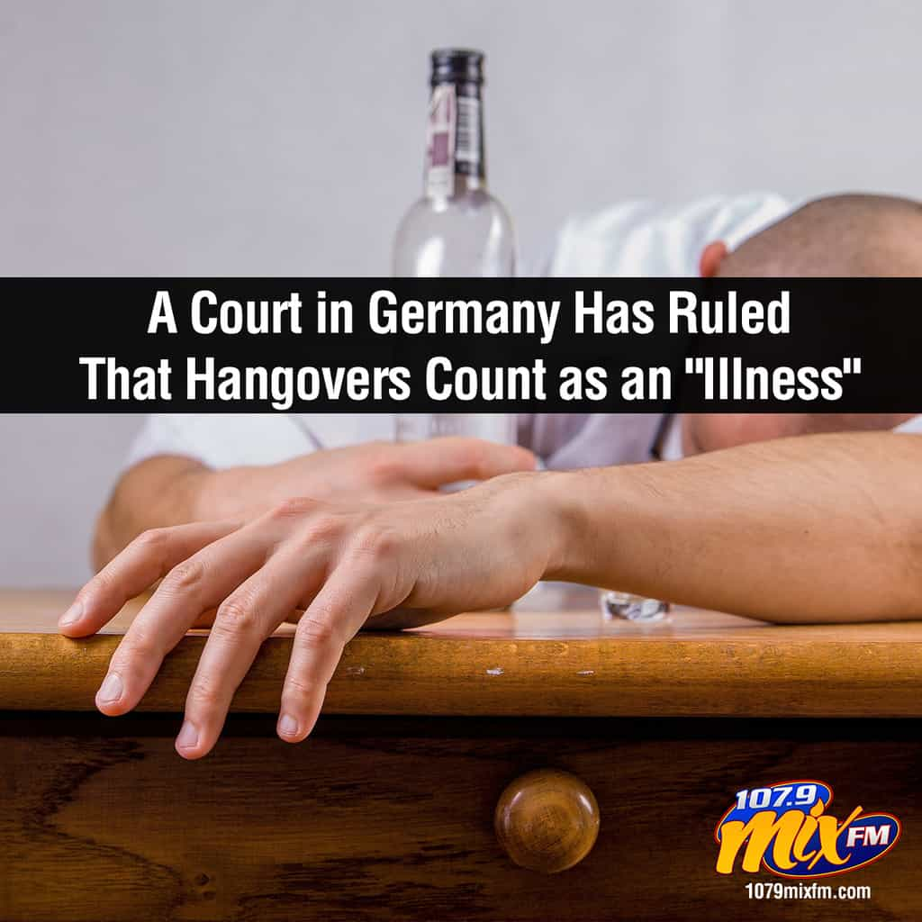"A Court in Germany Has Ruled That Hangovers Count as an ""Illness"""