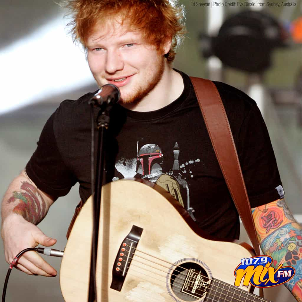 ED SHEERAN's Divide Tour is now the highest-grossing tour of all time, with $737.9 million in sales.