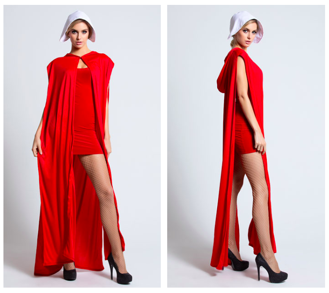 "First Dumb Halloween Costume of the Season Is a Sexy ""Handmaid's Tale"" Outfit"