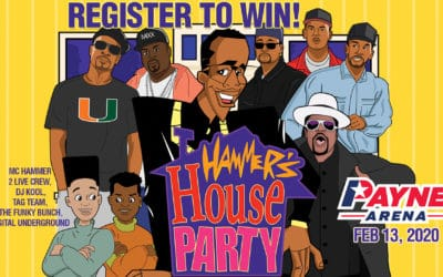 Register for your chance to win tickets to Hammers House Party
