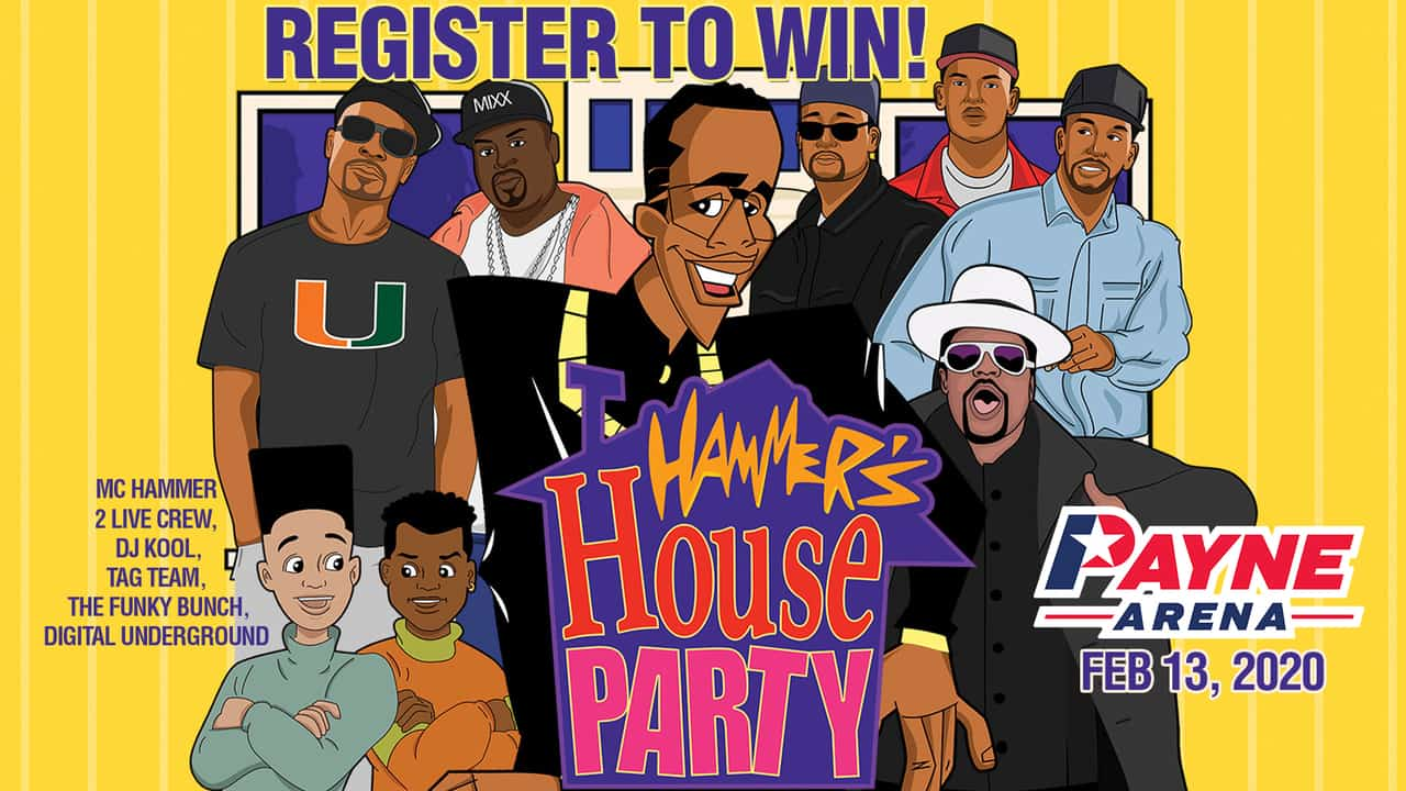 Register for your chance to win tickets to Hammers House Party 4